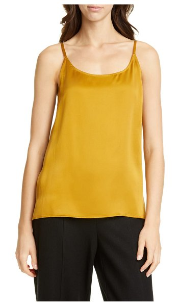 Eileen Fisher silk camisole in arnica