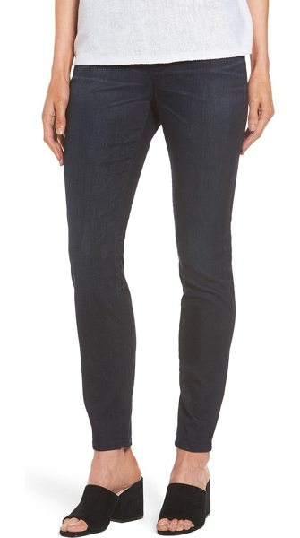 EILEEN FISHER stretch denim leggings - Effortless pull-on jeans are cut for a sleek, legging-like...