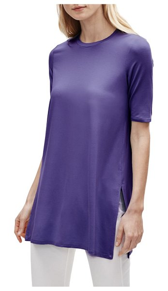 Eileen Fisher stretch tencel lyocell tunic in athena