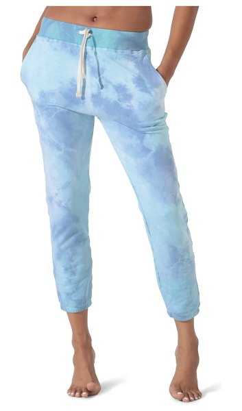 Electric & Rose pacifica jogger pants in periwinkle/ seabreeze