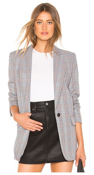 Equipment Jeanne Blazer in blue - Wool blend. Dry clean only. Lightly padded shoulders....