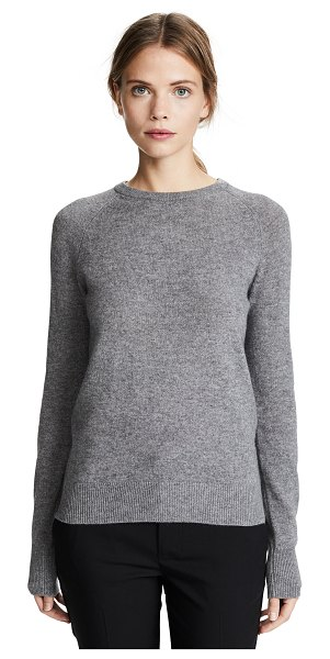 Equipment sloane cashmere sweater in heather grey