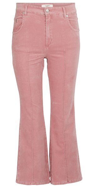 Etoile Isabel Marant Anyree cotton pants in light pink