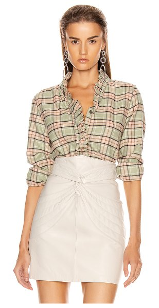 Etoile Isabel Marant awendy shirt in almond & pink