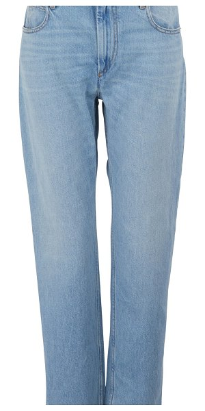Etoile Isabel Marant Cliff cotton jeans in blue