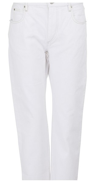 Etoile Isabel Marant Cliff cotton jeans in white
