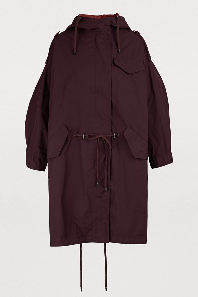 Etoile Isabel Marant Duano coat in burgundy - Eponymous brand Isabel Marant stands out due to the...