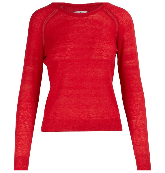 Etoile Isabel Marant Foty sweater in red