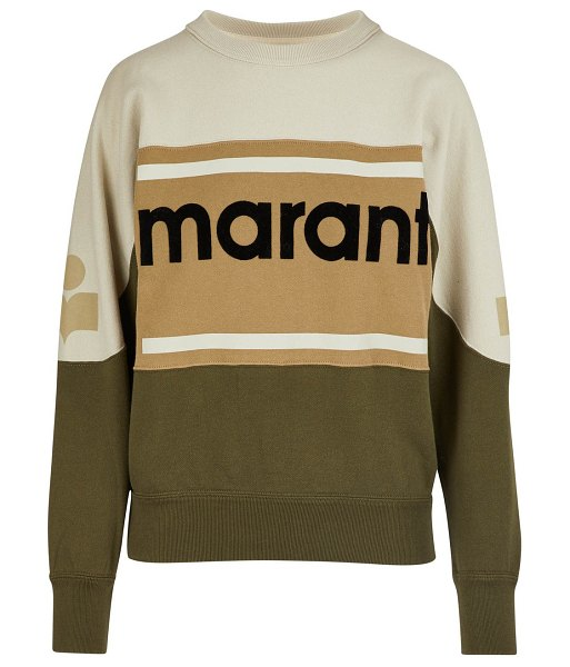 Etoile Isabel Marant Gallian sweatshirt in khaki