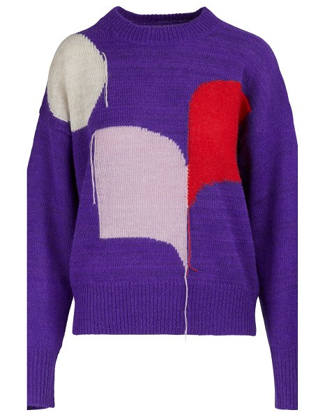 Etoile Isabel Marant Greenlee sweater in purple/lilac