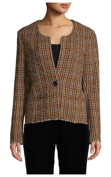 Etoile Isabel Marant Textured Jacket in brown