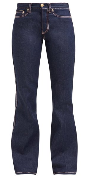 Eytys oregon high rise flared jeans in denim