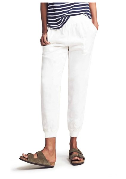 Faherty arlie day pants in white