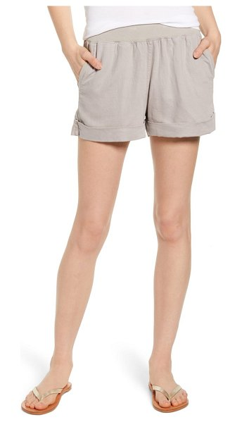 Faherty arlie day shorts in stone