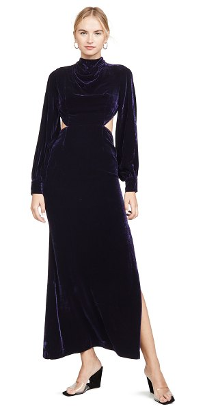 Fame and Partners the elizabeth dress in navy