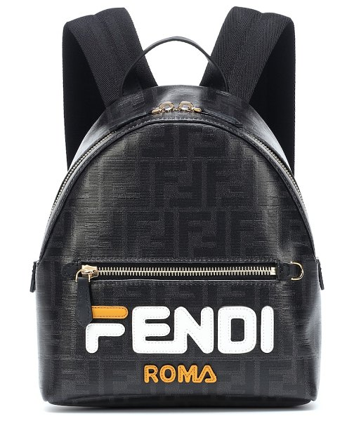 Fendi FENDI MANIA mini backpack in black - FENDI MANIA has officially taken over and every piece...