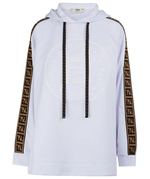 Fendi Fendi Rama sweatshirt in white/tobacco