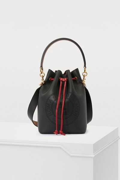 Fendi Mon Trésor bucket bag in nero/oro