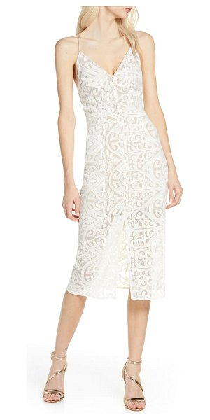 Finders Keepers sofia lace cocktail dress in ivory