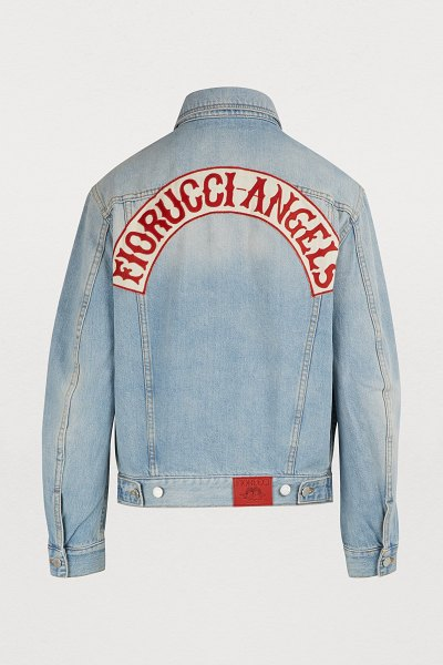 FIORUCCI Angels denim jacket in light vintage - Fiorucci, the iconic fashion house forever associated...