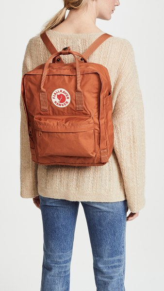 Fjallraven kanken backpack in brick