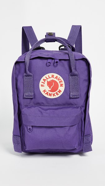 Fjallraven kanken mini backpack in purple