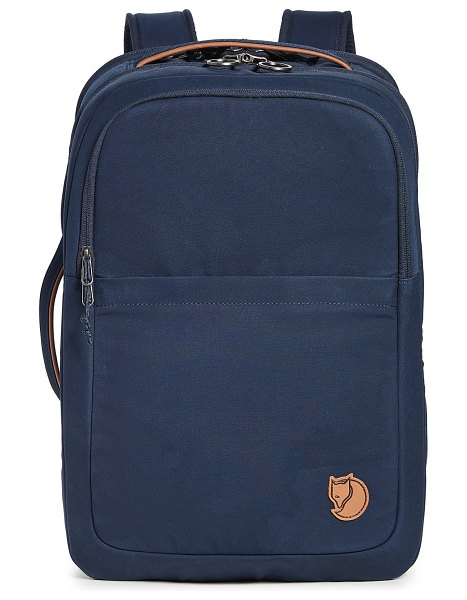 Fjallraven travel backpack in navy