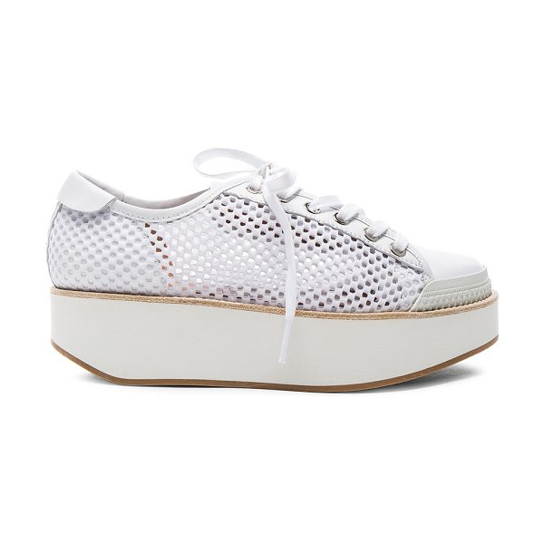 FLAMINGOS Mesh Tatum Sneakers - Mesh fabric upper with rubber sole.  Made in Spain. ...
