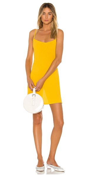 Flynn Skye molly mini dress in daffodil