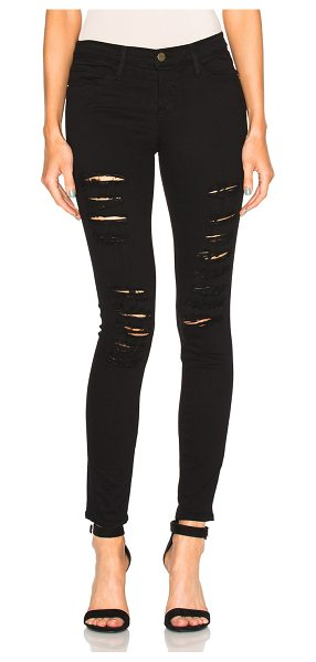 FRAME Denim Le Color Rip Jean - 91.5% cotton 6% poly 2.5% lycra.  Made in USA.  Distressed...