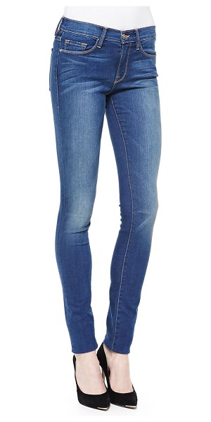 FRAME Forever Karlie Skinny High-Rise Jeans in columbia road