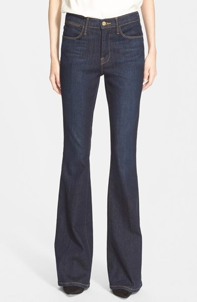 FRAME 'le high flare' jeans in sutherland