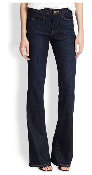 FRAME le high flared jeans in sutherland