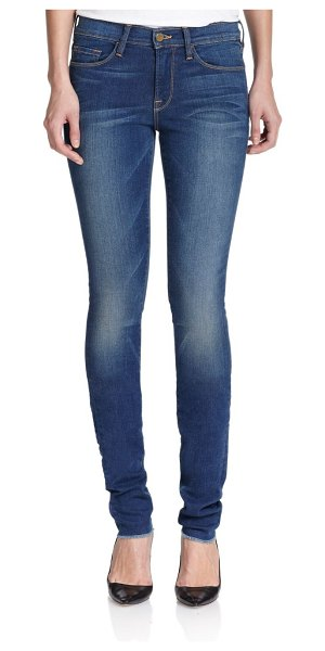 FRAME karlie mid-rise supermodel-length skinny jeans in columbia road
