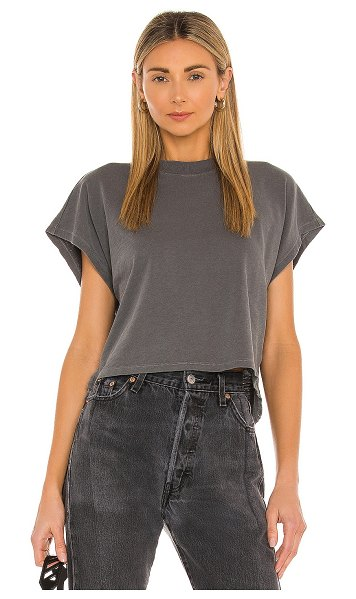 FRAME off duty tee in graphite
