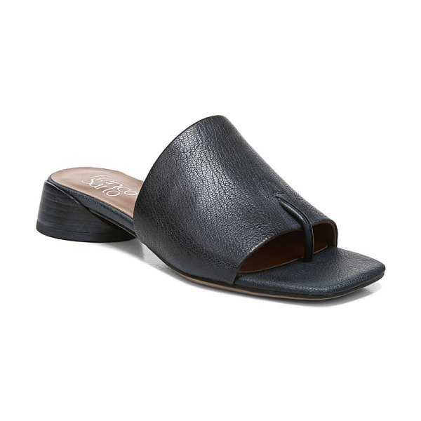 Franco Sarto loran sandal in black leather