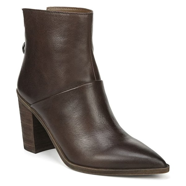 Franco Sarto mack bootie in brown leather