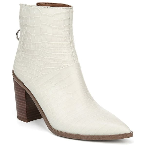 Franco Sarto mack bootie in putty leather