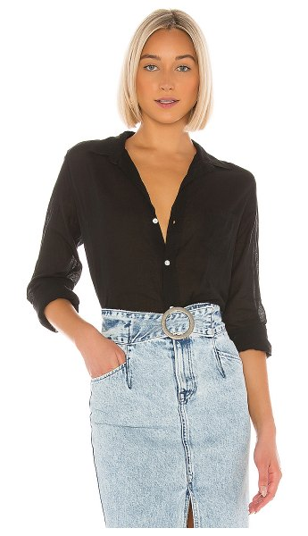Frank & Eileen barry button down in black