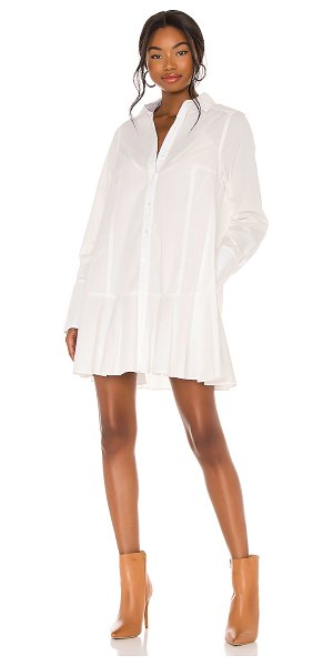 Free People all for you shirt dress in white