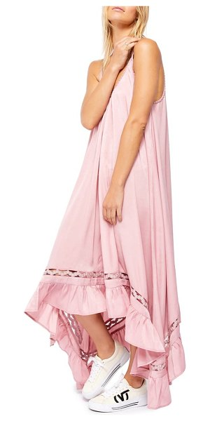 Free People amor amor maxi slipdress in pink