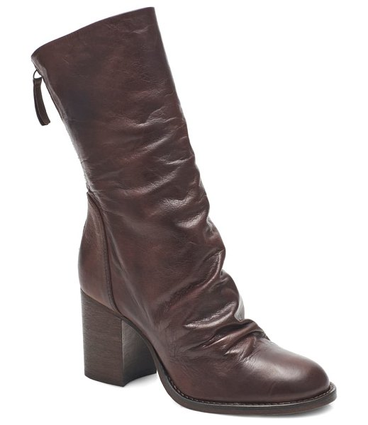 Free People elle boot in vintage oak leather