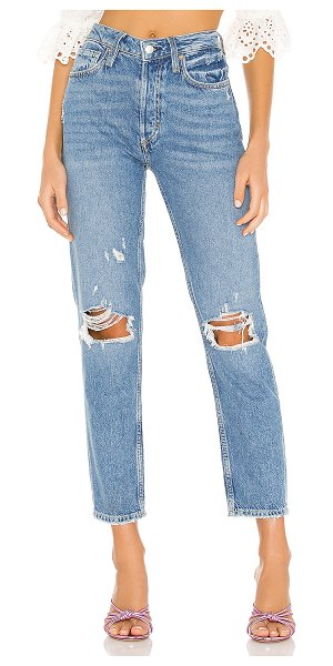 Free People fast times high rise mom jean. - size 25 (also in blue