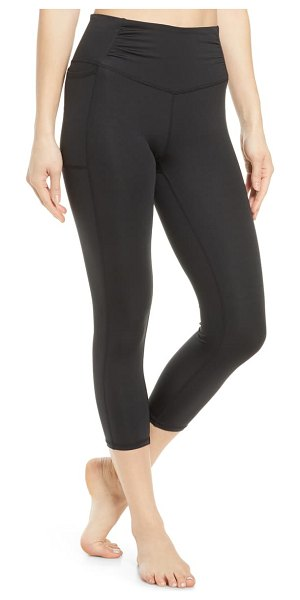 Free People FP Movement breathe easy leggings in black