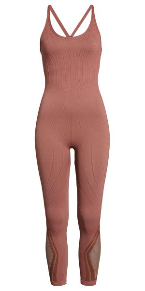 Free People FP Movement the essence jumpsuit in washed sienna