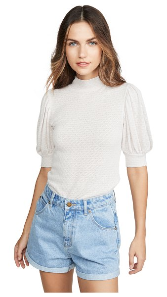 Free People good luck tee in pink nectar