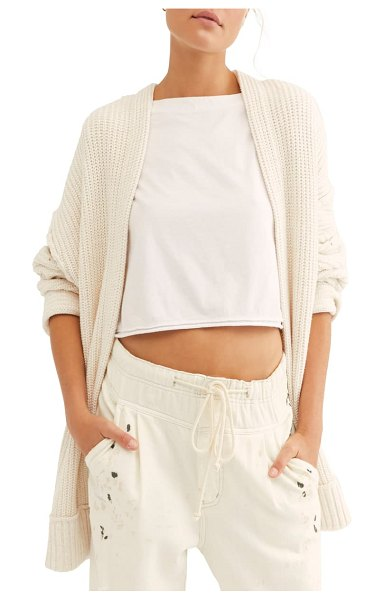Free People high hopes cardigan in ivory