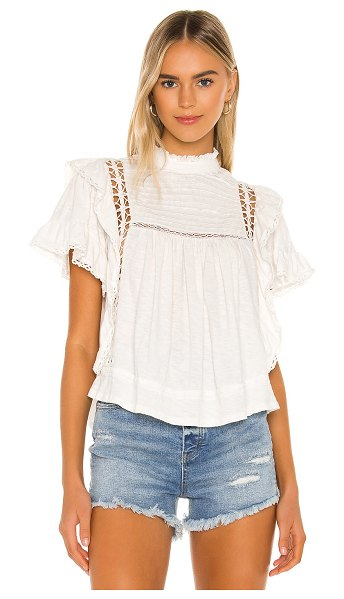 Free People le femme tee in ivory