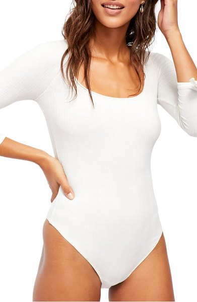 Free People move on bodysuit in ivory