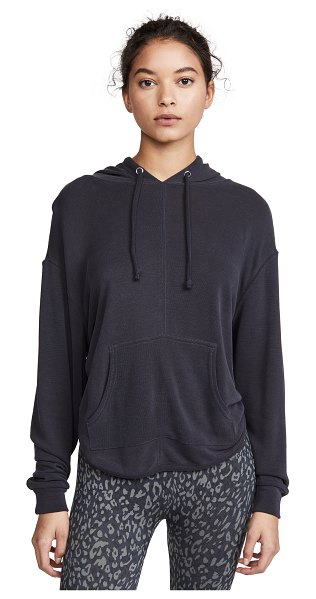 Free People fp movement back into it hoodie in black